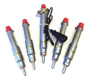VAG 2.5lt. TDI 102 / 150 Bhp High Flow Injectors, set of 5 Injectors.